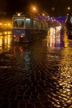 Краски мокрого асфальта. / Когда в городе ночью идет дождь.