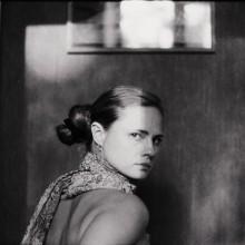 автопортрет / 2010 г. ч/б пленка