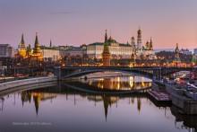 Утренняя классика / Утреннее отражение Московского кремля