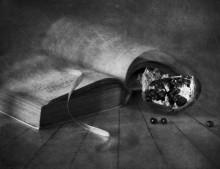 С гранатом и книгой... / ......................