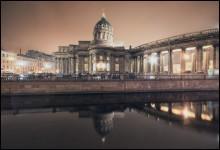 Казанский собор / вид со стороны канала Грибоедова