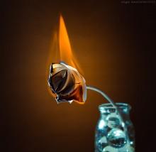 / огонь
