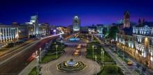 Independence Square / вид из окна отеля Минск http://sergey-nik-melnik.by/fotogalereya/zolotoe-okno-minska/zolotoe-okno-minska-396 ПРИСОЕДИНЯЙТЕСЬ и Добавляйте!  - Все самое интересное в городе и  ЛУЧШИЕ ФОТОГРАФИИ Минска https://vk.com/fotosfera_minsk