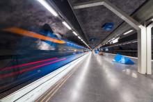 Стокгольм начинается с метро! / Один из самых необычных метрополитенов мира. Швеция.