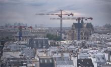 Крыши Парижа / Вид из центра Жоржа Помпиду