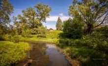 У реки. / Тверская область.Река Нерль.