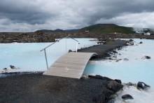 Без названия / Возле Голубой лагуны Исландии.