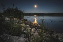 Лунная ночь на берегах Ветлуги / ***