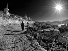 Another one sunny morning... / In Korzok - High mountain Tibetan village