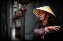 / Уличный портрет женщины... Ханой, Вьетнам