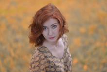 Сонина осень / модель Соня Смирнова