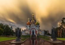 Храм святого князя Игоря Черниговского / Патриаршее подворье. Переделкино. Москва