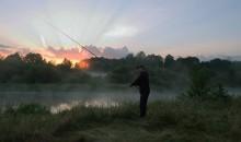 Встречая восход / Утро, река Неман, лето