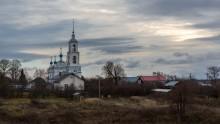 В звенящей тишине осени / Церковь Рождества Пресвятой Богородицы в Городище. Переславль-Залесский.