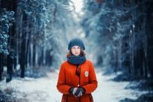 Портрет Анастасии / Портрет девушки в морозный ноябрь.