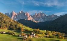осень в Южном Тироле / Доломитовые Альпы, Италия