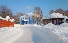 Зимняя дорога / Зима