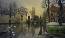 Winter in Bruges. / ***