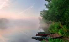 Утренний туман. / ***