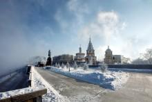 Город морозный очень / Иркутск, -25