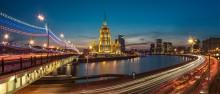 Вечерняя Москва / Вид на гостиницу Украина