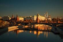 Кремлевское утро / Вид с Патриаршего моста