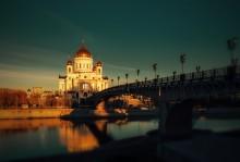 Храм Христа Спасителя / Утро в Москве