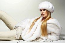 Glam / Реклама мехового салона. Фотограф Игорь Скобелев Модель я, Наталия Гынку.