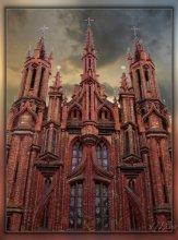 Красный костёл св. Анны. / Вильнюсские храмы.