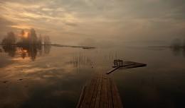..тихое утро... / ..Валдай,озеро Шлино..
