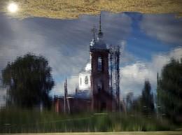 Мир в отражениях / Село Лучинское Церковь Святителя Николая Мирликийского