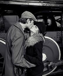 Прощание на пероне / Фотосессия Ретро поезд в ЖД Депо Подмосковная 28.09.2014г.