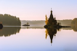 Тишина / Храм святого апостола Андрея Первозванного на Вуоксе.