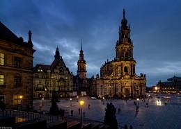 Замковая площадь / Дрезден