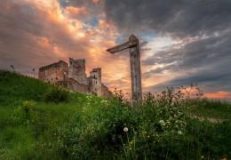 эстонская готика / старая крепость Раквере