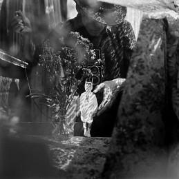 """Саша (портрет с Сашей в костюме зайца) / """"Тут повсюду сирень, дровяные сараи, кирпичный завод и папкин """"Жигуль"""". Цветные жвачки из Польши, за """"пятаки"""" в дневнике, ученика третьего класса...""""  P.S. Продолжение и другие тексты можно почитать тут - http://ava-veled.livejournal.com/tag/txt"""