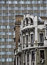Городские контрасты / Московские зарисовки