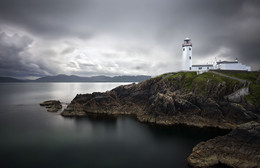 Fanad Head / The lighthouse of Fanad Head i the north of Donegal (Ireland)