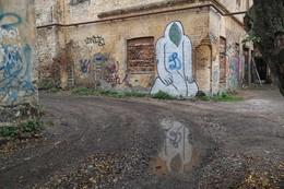 Дворовой / Старый дворик в центре Бреста