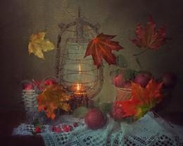 Засентябрило / Осенний дождь навеял немного грустную композицию