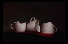 3 чашки / digital art