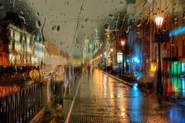 ночной дождь... / Санкт-Петербург