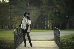 Прогулка по парку / модель Евгения Колесник