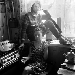 Яна и Артем (портрет с пружинкой) / Витебск, 2015