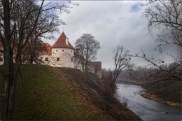 Бауский замок. / Латвия