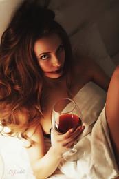 red wine.. /