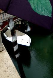 / венеция, канал, мост, парковочный столбик