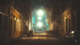 Косой переулок / Ночной снимок