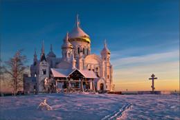 Без названия / С Рождеством Христовым!!! Белогорский монастырь, зима, январь 2015