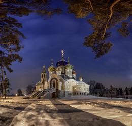 Зимний вечер в Переделкино / Москва. Переделкино